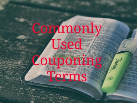 Commonly Used Couponing Terms