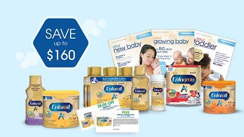 Enfamil formula freebies