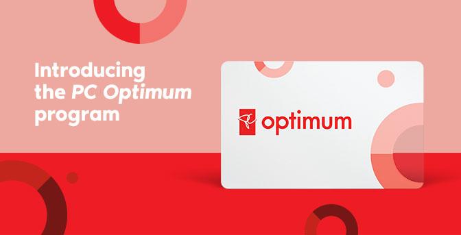 PC Optimum Points Card