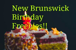 New Brunswick Birthday Freebies