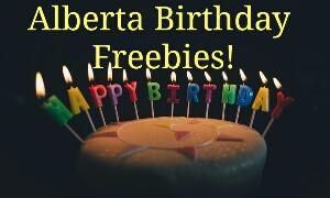 Alberta Birthday Freebies