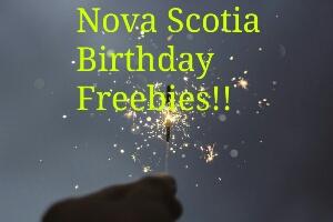 Nova Scotia Birthday Freebies
