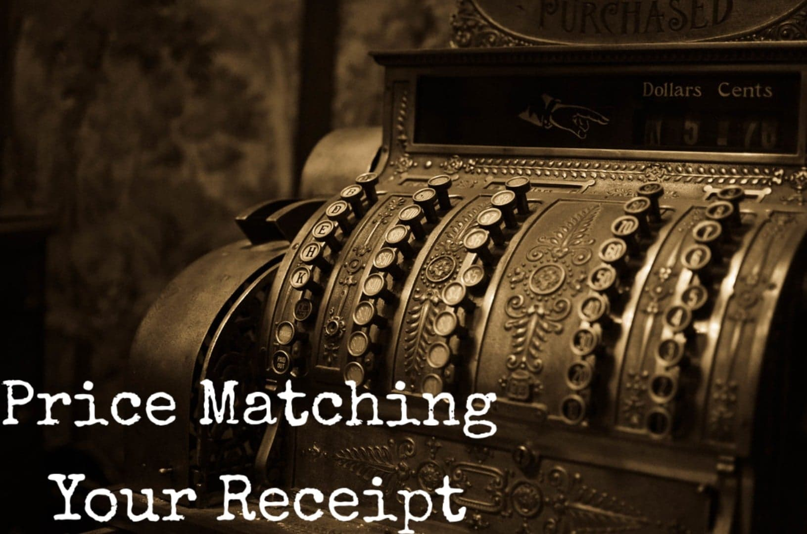 Price Matching Your Receipt