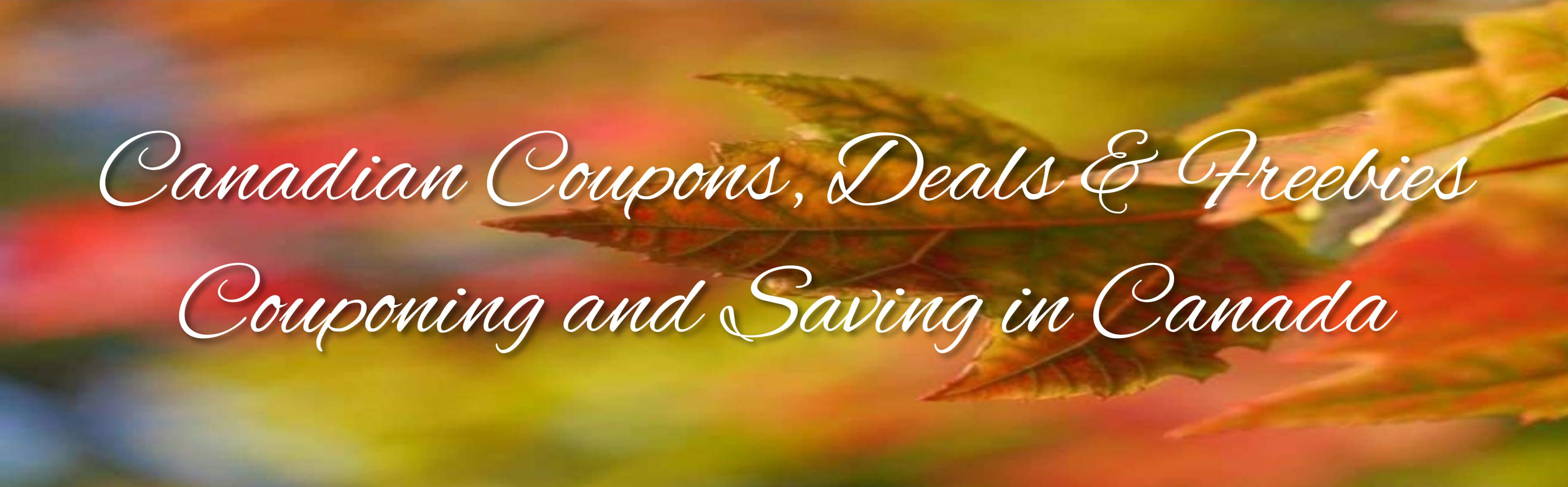 Canadian Coupons, Deals and Freebies
