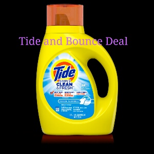 Stock up price on bounce and tide