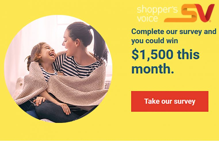Shopper's Voice Survey is Now Available for 2021